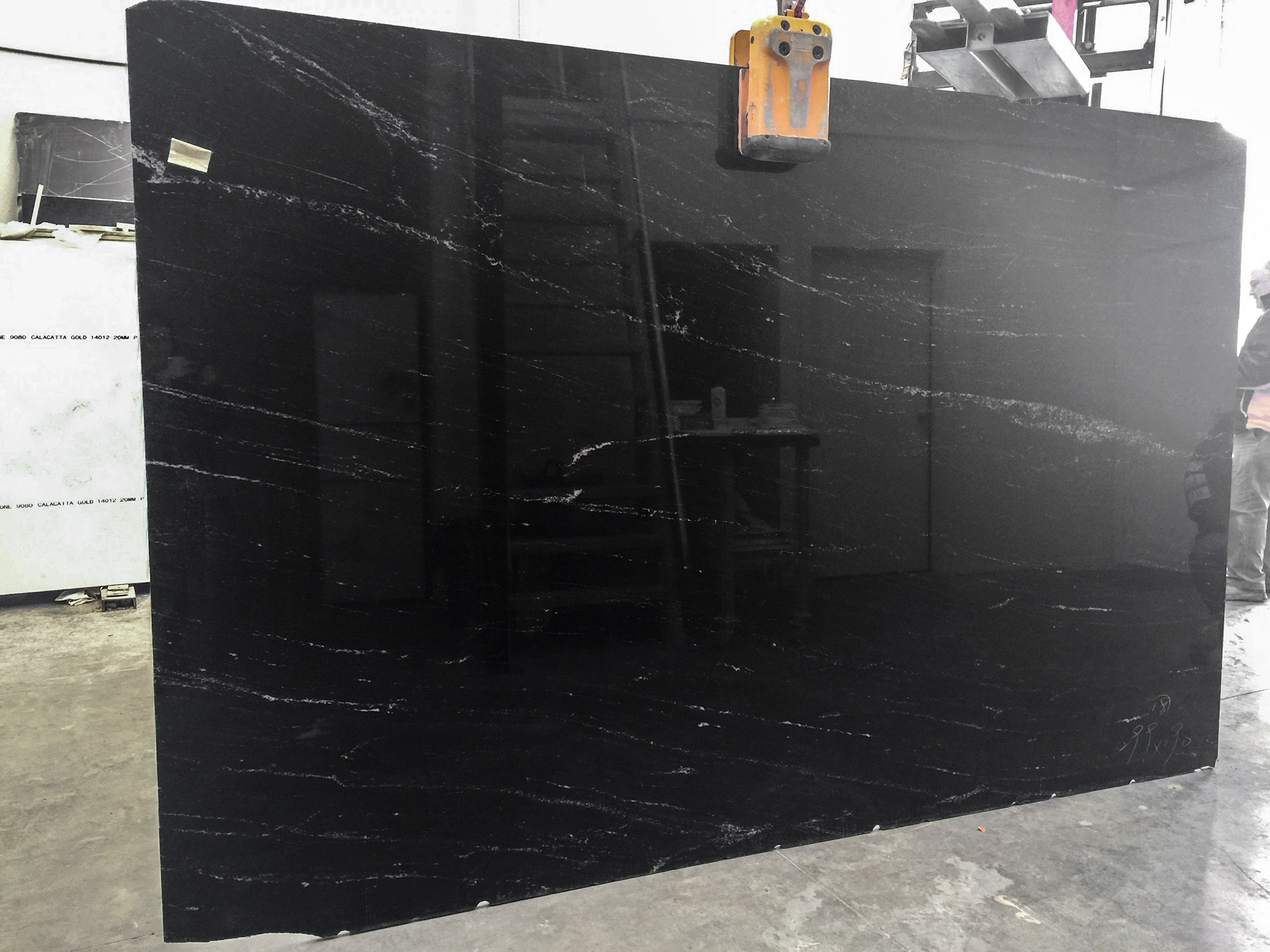 Cosmic Black - Marble Centre